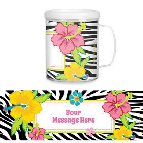 Luau Fun Personalized Favor Mug (Each)