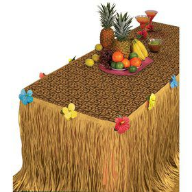 Luau Table Cover And Table Skirt Kit (Each)