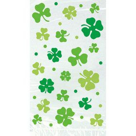 Lucky Shamrock Cello Bags (20 Count)
