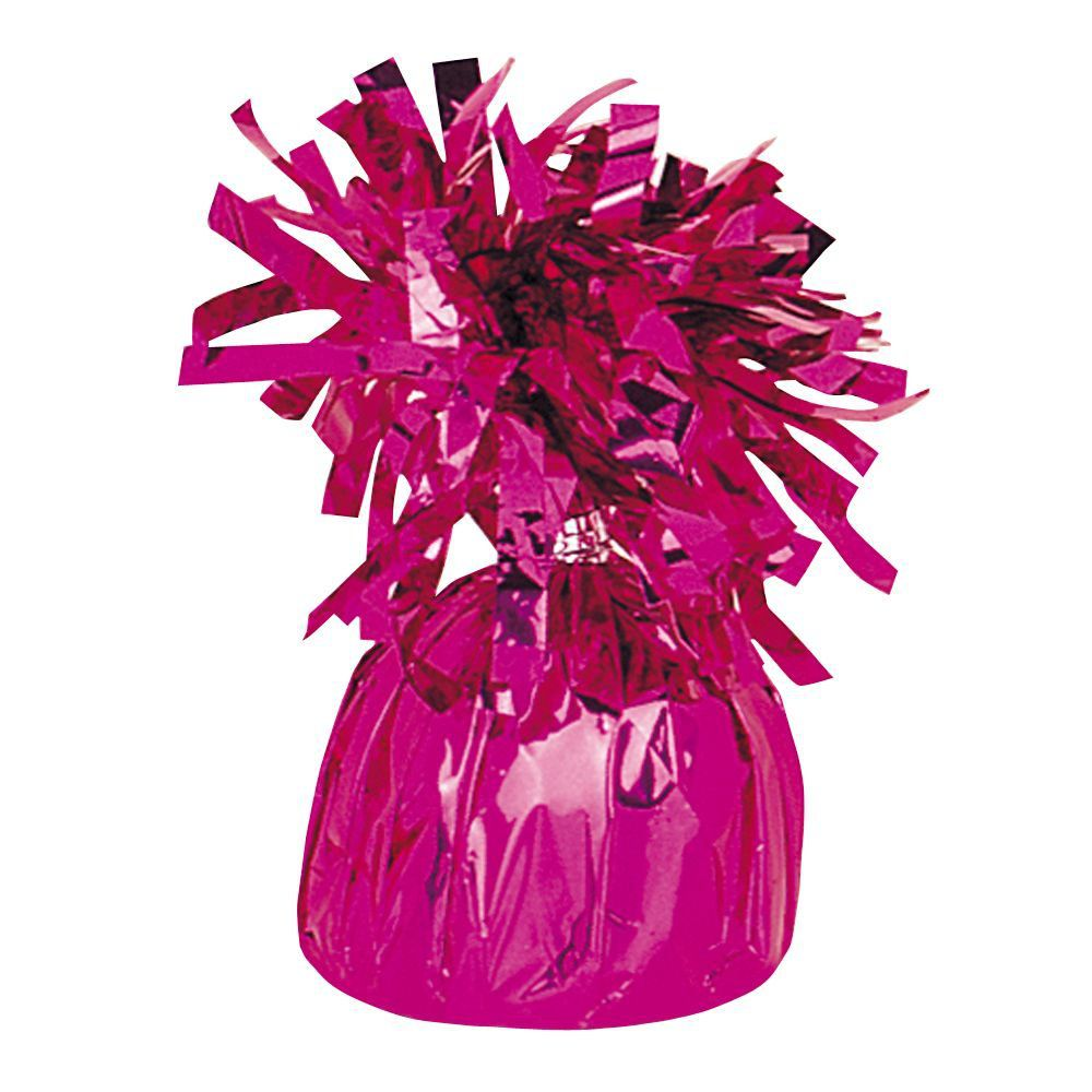 Magenta Foil Balloon Weight Balloons And 30th Birthday Parties