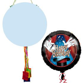 Magic Birthday Pull String Economy Pinata