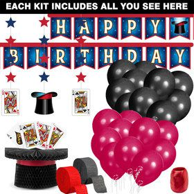 Magic Party Decoration Kit