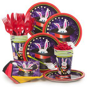 Magic Party Standard Tableware Kit Serves 8