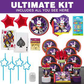 Magic Party Ultimate Tableware Kit Serves 8