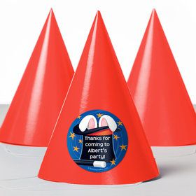 Magic Personalized Party Hats (8 Count)