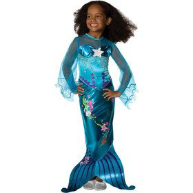 Magical Mermaid Kids Costume