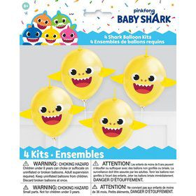 Make Your Own Baby Shark Balloons (4ct)