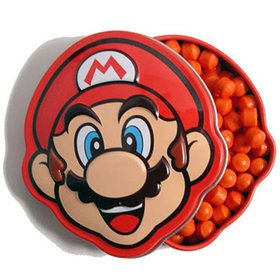 Mario Brick Breakin Candy Tin