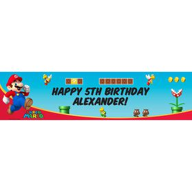 Mario (Super Mario Bros) Personalized Banner (Each)