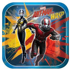 "Marvel Ant Man & The Wasp 7"" Cake Plates (8)"