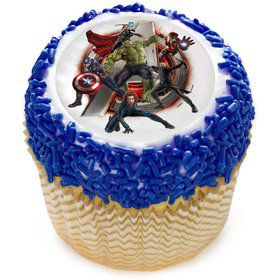 "Marvel Avengers 2"" Edible Cupcake Topper (12 Images)"