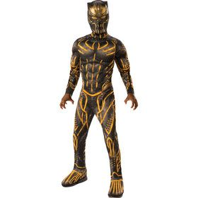 Marvel: Black Panther Movie Deluxe Boys Erik Killmonger Battle Suit Costume