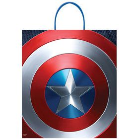 Marvel Captain America Plastic Loot Bag (Each)