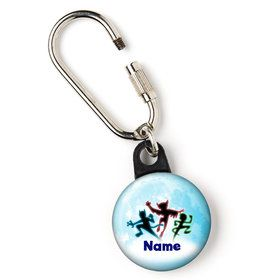 """Masked Heroes Personalized 1"""" Carabiner (Each)"""