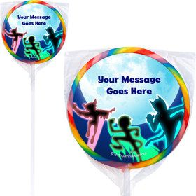 Masked Heroes Personalized Lollipops (12 Pack)