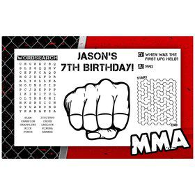 Matchup Personalized Activity Mats (8-Pack)
