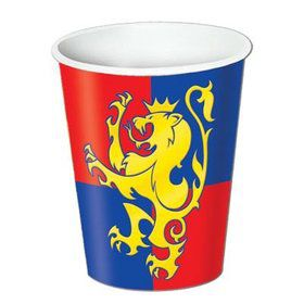 Medieval Beverage Cups 9 Oz (8 Pack)