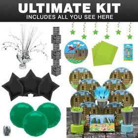 Medieval Birthday Party Ultimate Tableware Kit Serves 8