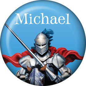 Medieval Knight Personalized Mini Magnet (Each)
