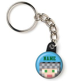 "Medieval Pixels Personalized 1"" Mini Key Chain (Each)"