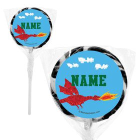 "Medieval Pixels Personalized 2"" Lollipops (20 Pack)"