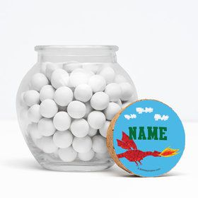 "Medieval Pixels Personalized 3"" Glass Sphere Jars (Set of 12)"