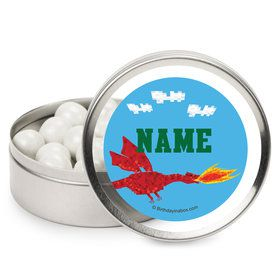 Medieval Pixels Personalized Mint Tins (12 Pack)