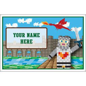 Medieval Pixels Personalized Placemat (Each)