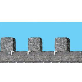 Medieval Stone Wall Border (Each)