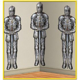 Medieval Wall of Knights Backdrop Decoration (Each)