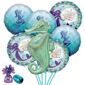 Mermaid Deluxe Balloon Bouquet Kit