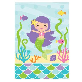 Mermaid Friends Loot Bags (8 Count)