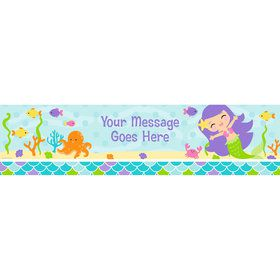 Mermaid Friends Personalized Banner (Each)