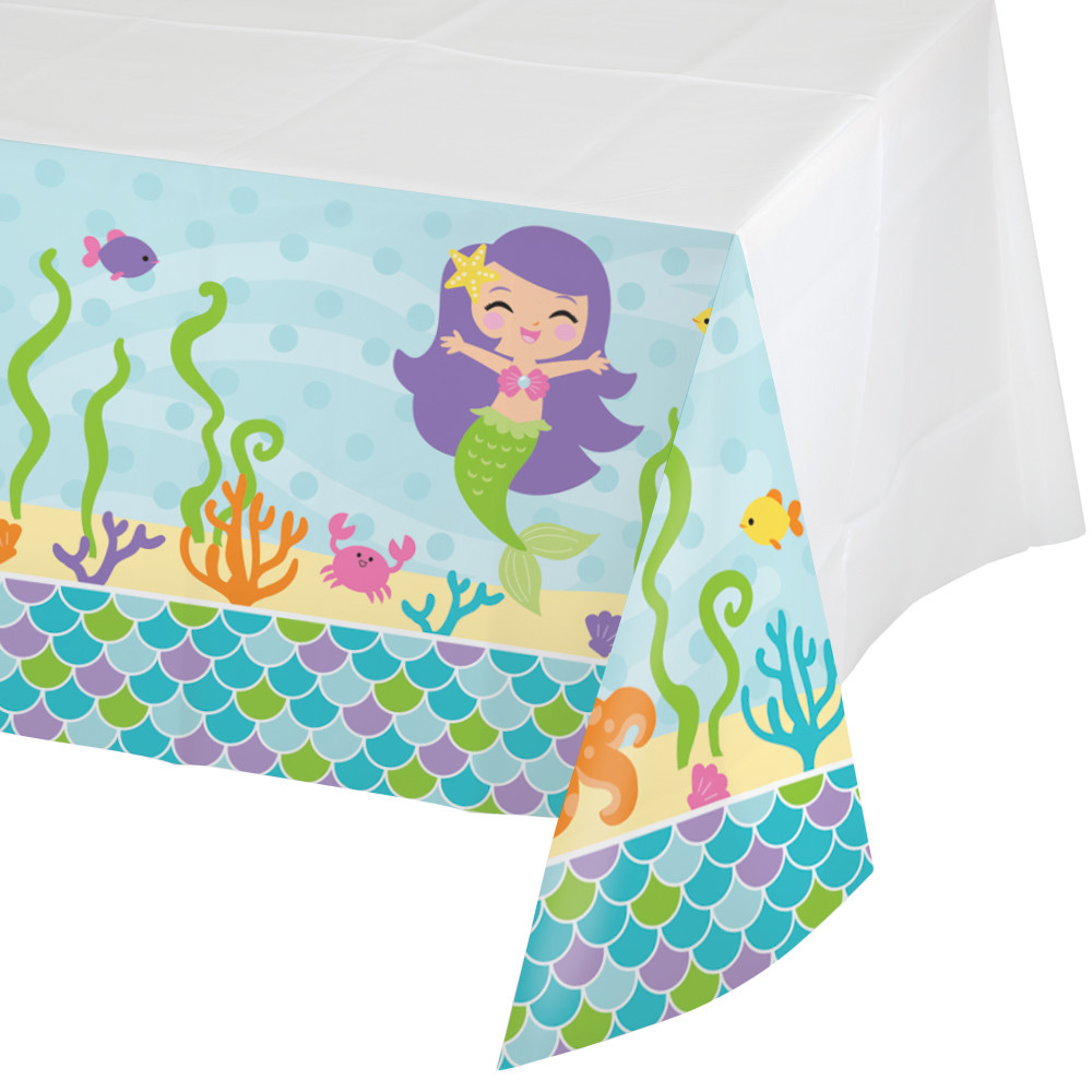 Mermaid Friends Tablecover - Party Supplies