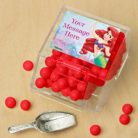 Mermaid Personalized Candy Bin with Candy Scoop (10 Count)