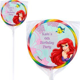 Mermaid Personalized Lollipop (12 Pack)
