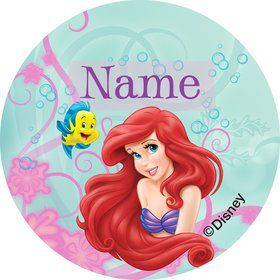 Mermaid Personalized Mini Stickers (Sheet of 20)