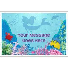Mermaid Personalized Placemat (Each)