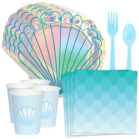 Mermaid Shell Standard Tableware Kit (Serves 8)