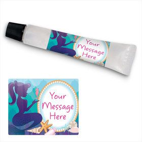 Mermaid Under The Sea Personalized Hand Sanitizer Kit (24 Pack)