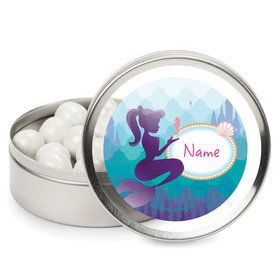 Mermaid Under the Sea Personalized Mint Tins (12 Pack)
