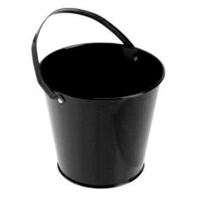 Metal Bucket - Black (6)