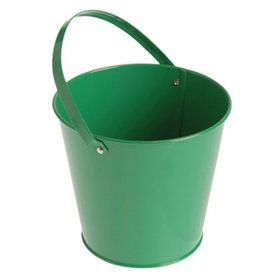 Metal Bucket - Green
