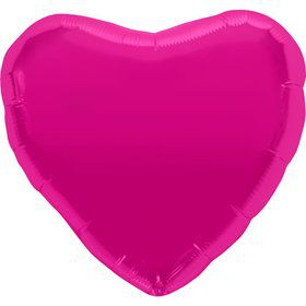 "Metallic Heart 18"" Balloon (Each)"