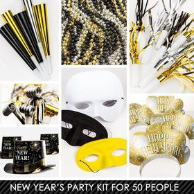 Metallic New Years Kit (For 50 Guests)