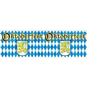 Metallic Oktoberfest Fringe 4ft. Banner (Each)