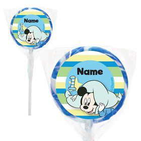 "Mickey 1st Birthday Personalized 2"" Lollipops (20 Pack)"