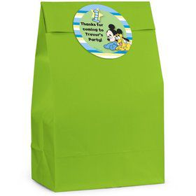 Mickey 1st Birthday Personalized Favor Bag (Set Of 12)