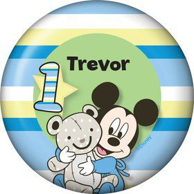 Mickey 1st Birthday Personalized Magnet (Each)
