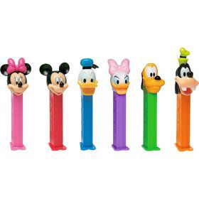 Mickey and Friends Pez Dispenser and Candy Set (Each)